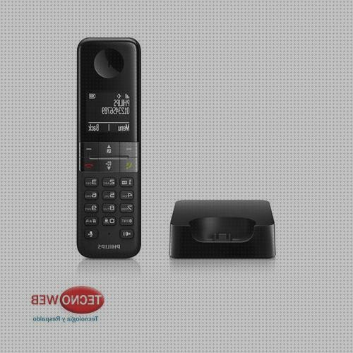 Review de philips inalambricos telefonos d450
